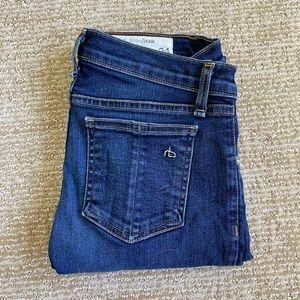 Rag & Bone high skinny jeans